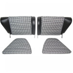 Back seats Leatherette-Houdstooth  Porsche 911 & 912