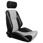 LeMans R Type T15 - Leatherette/Houndstooth