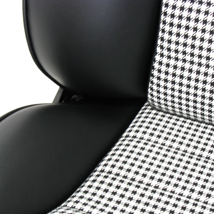 Lemans T815 Leather Houndstooth Classic Touring Seats