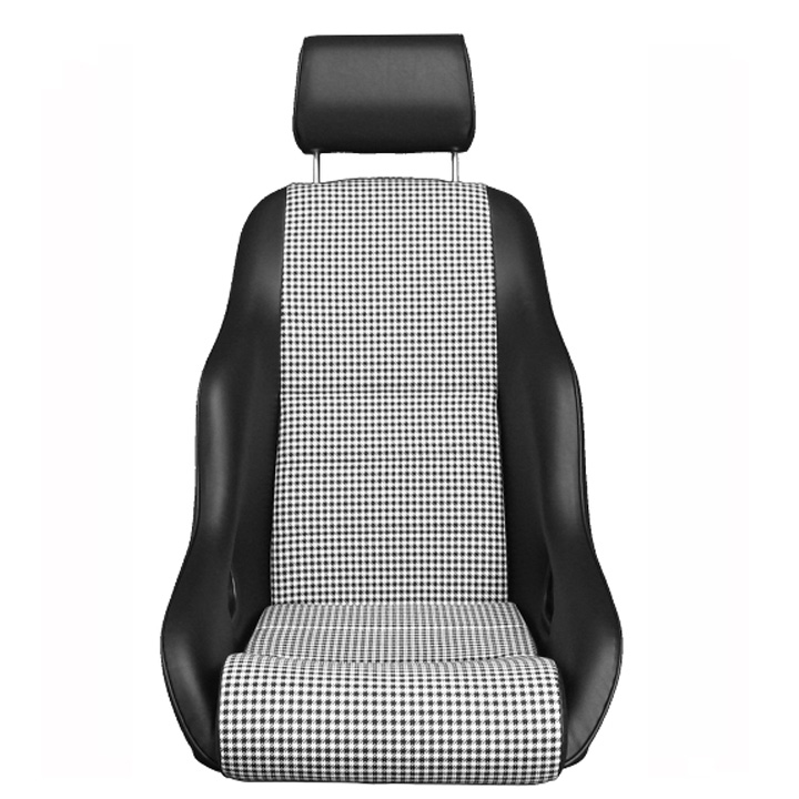 Rally Gt T75 Leatherette Houndstooth Classic Touring Seats